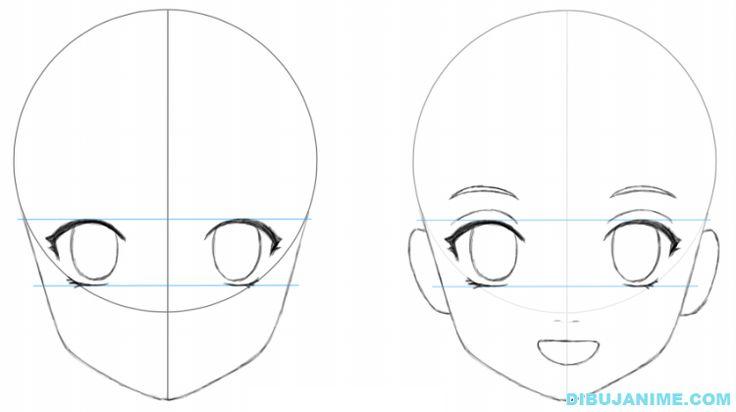 Te enseño a dibujar anime,paso a paso super facil - Taringa!                                                                                                                                                                                 Más