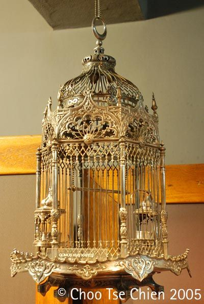 Silver Birdcage - Treasury Of Topkapi Palace - copyright of Choo Tse Chien