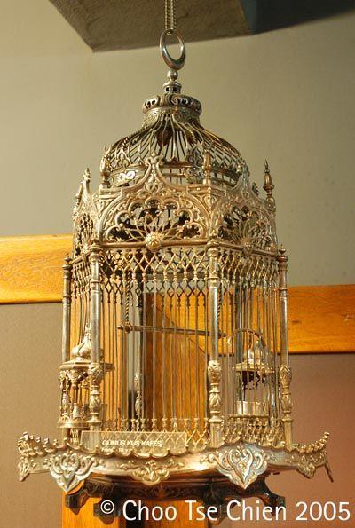 Silver Birdcage - Treasury Of Topkapi Palace - copyright of Choo Tse Chien