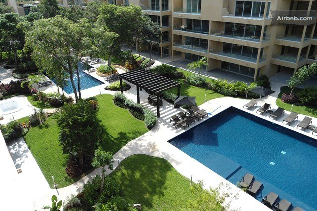 OK, this could be the place!! I am absolutely am in love  and below our budget!! Chic Luxury 2-BR Penthouse w/Roof in Playa del Carmen