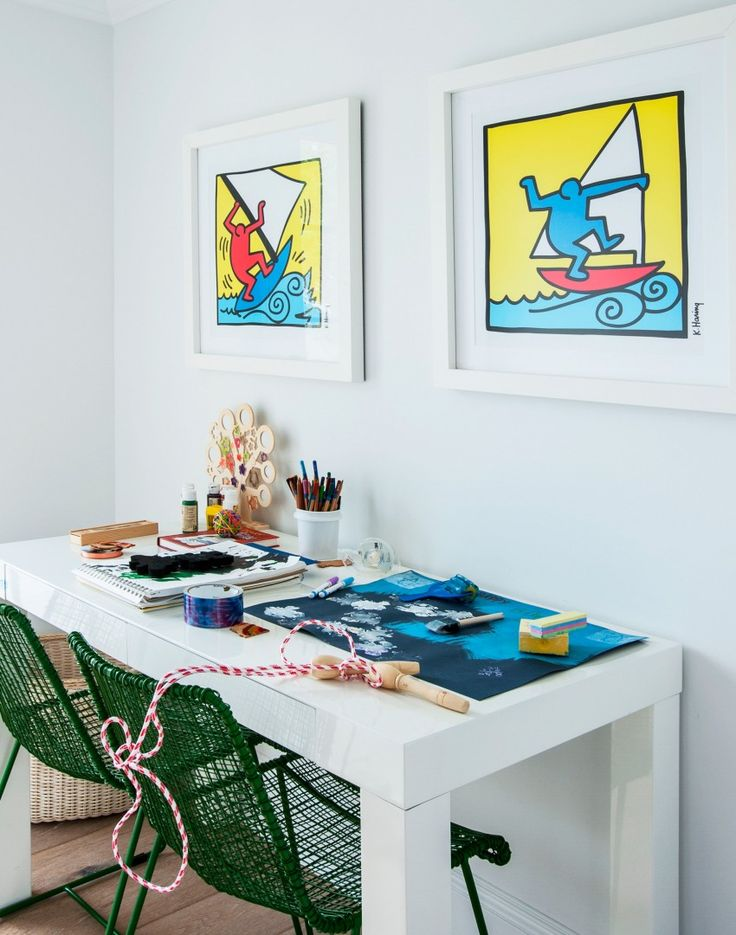 After Modern Home Office Decorating Ideas? Take A Look At This Modern Home  Office With Pop Art Touches For Decorating Inspiration. Find More Interior