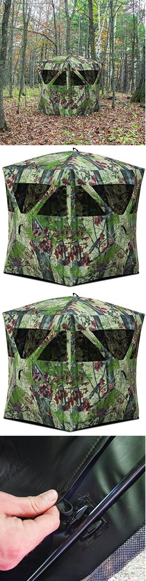 Blinds 177910: Deer Hunting Blind Tent Portable Camouflage Shelter 2 Person Water Resistant New -> BUY IT NOW ONLY: $116.99 on eBay!