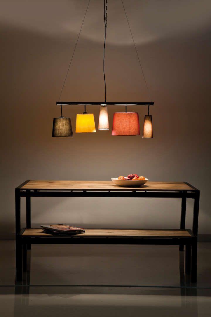 """Люстра """"Пареччи Колоре"""" (Parecchi Colore), 5 лампочек"""