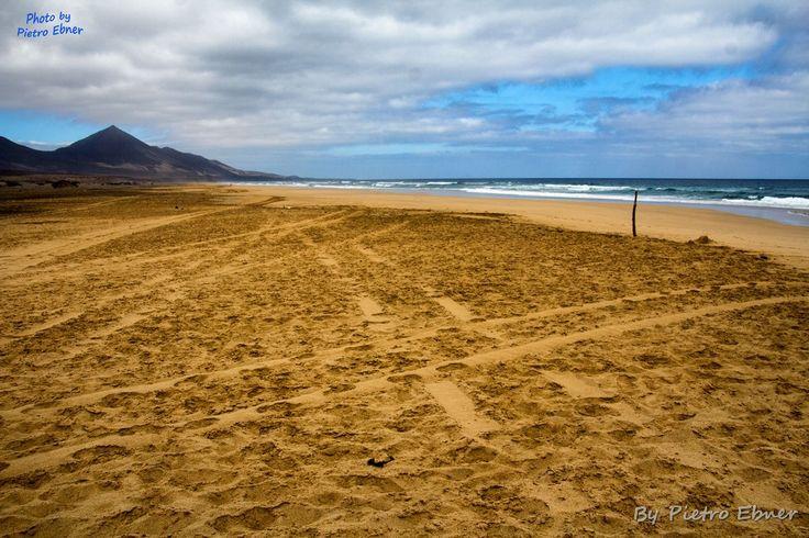 Spiaggia a Fuerteventura  - By Pietro Ebner - http://pietrofoto.it - Get the fullsize photo