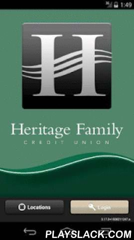 Heritage Family Mobile Banking  Android App - playslack.com , Heritage Family Federal Credit Union's app is a free* and convenient mobile banking solution that enables you to perform financial transactions from anywhere at any time. The app is available to all personal and commercial members of HFFCU.Features include:View account balancesMake one-time transfersView up to 15 days of transaction historyReceive alertsPay bills (Premier Share Draft only)Locate ATM's and BranchesTo take advantage…