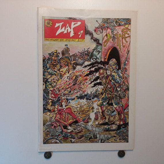 ZAP Comics, Issue 9, 1978, Last Gasp , R Crumb, Robert Crumb, Underground Comics, Adult
