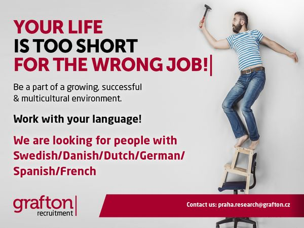 Your life is too short for the wrong job!