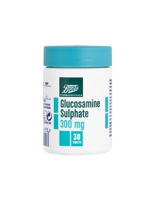 #Boots Pharmaceuticals Boots Glucosamine Sulphate 300mg (30 Tablets) #4 Advantage card points. FREE Delivery on orders over 45 GBP. (Barcode EAN=5045093814153)