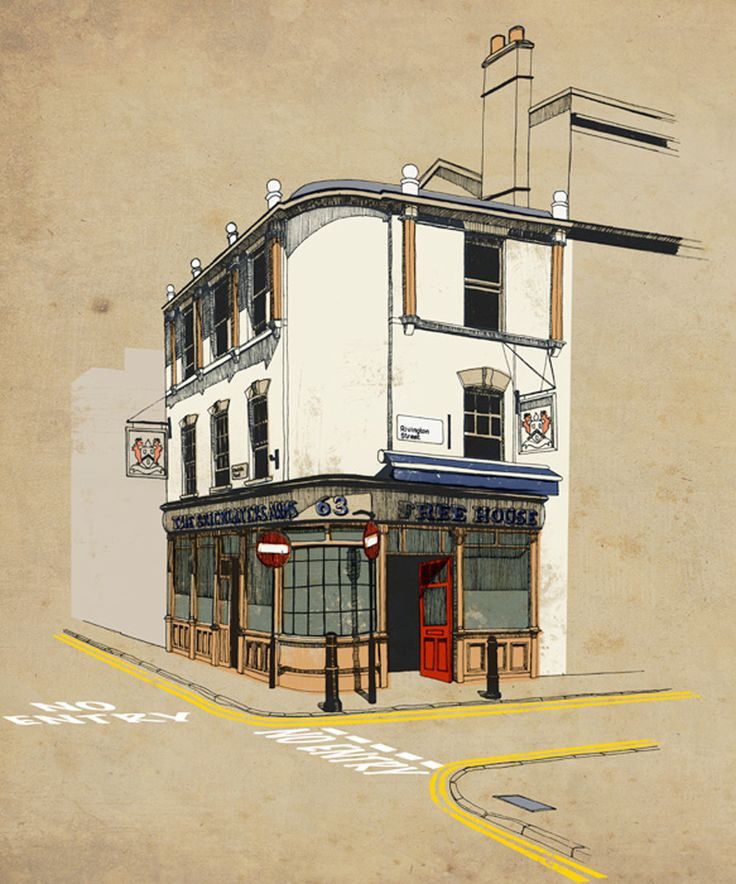 The Urban Sketches and Drawings of Jess Douglas