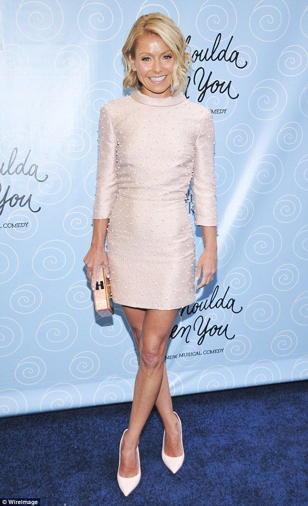 ♥♥♥Kelly Ripa♥♥♥ More familiar: She's known for her more demure chin-length wavy blonde look - pictured in ...