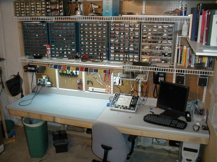 Electronic Technician Work Benches : Ultimate electronics lab google search