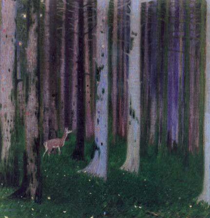 Ελάφι στο πυκνό δάσος, Παρθενης