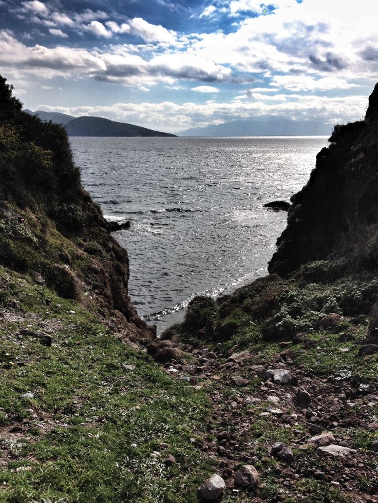Looking on to Black Island.