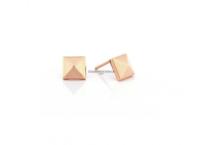 Σκουλαρίκι πυραμίδα τρουκ