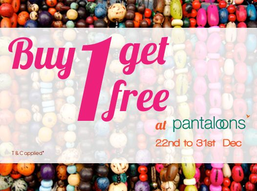 A Christmas treat from Fusion Beats, Buy one and get one free only at Pantaloons.