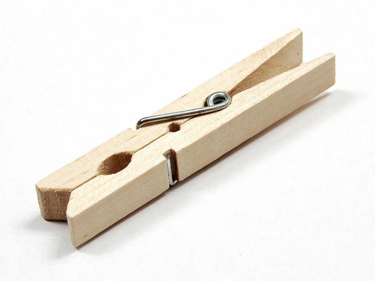 clothespins: