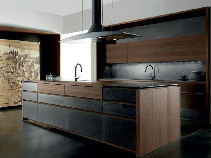 cuisine-design-italienne-hotte-inox-sol-noir-panneau
