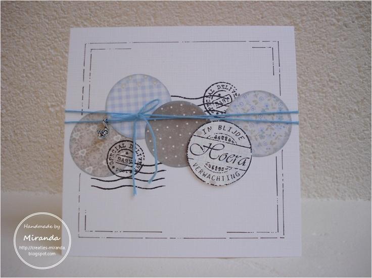 Mirandas Creaties: Thema dag #2: zwangerschap