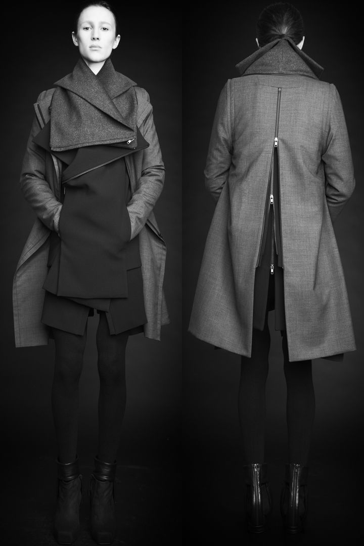 Love the back zipper detail  [ rad hourani ]: collection #7