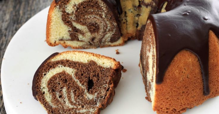 Classic marble cake recipe - Everyday Dishes & DIY