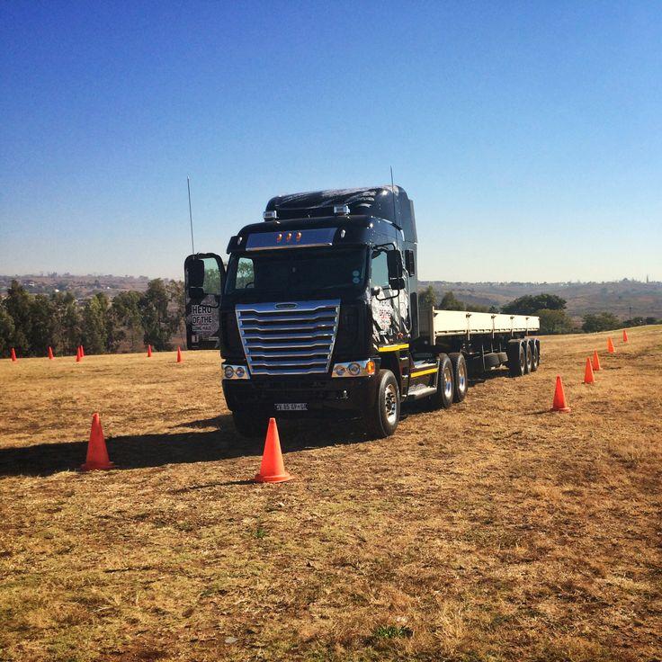 The Freightliner at Customer Day #TalkTrucks