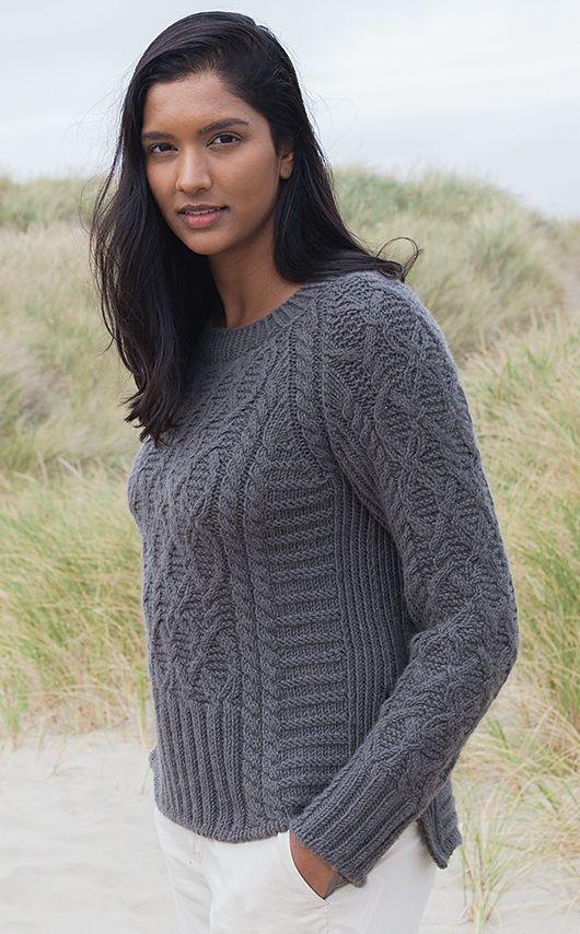 Вязание пуловера Drivtommer   фото