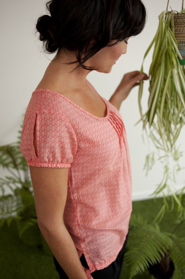 Fresh Start Cotton Silk Top - available now http://www.chalkydigits.co.nz/shop/summer15womens/tops++tees/fresh+start+cotton+silk+top.html