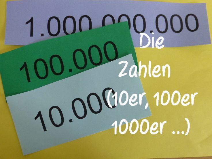 Learn German: Die Zahlen (10er, 100er, 1000er und mehr)