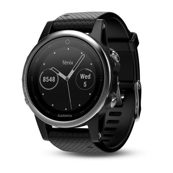 Garmin Fenix5S  Sapphire GPS+GLONASS Watch 100ATM Muti-Sports Smart Wristwatch Photoelectricity Heart Rate Monitor Altimeter Compass Stopwatch Timer For Running Climbing Golf Swim