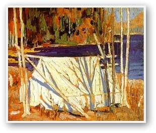 Tom Thomson  The Tent