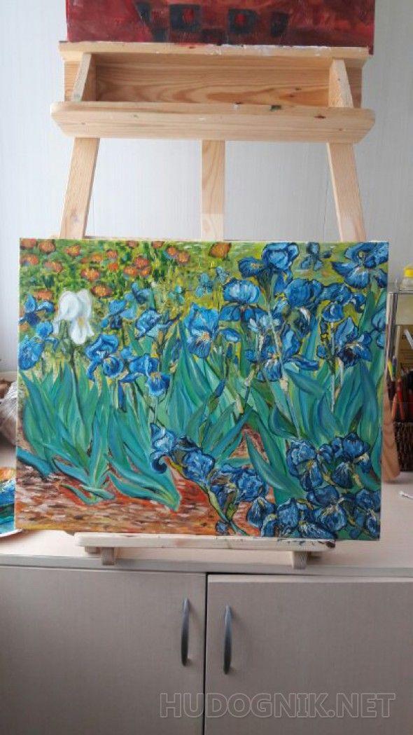 'Ирисы ' Vincent van Gogh
