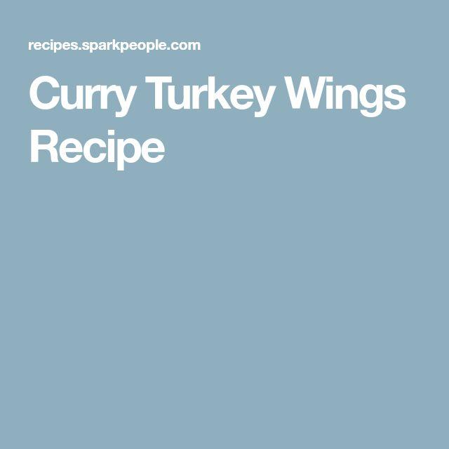 Curry Turkey Wings Recipe