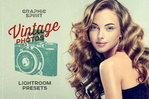 Vintage Photos Lightroom Presets Set by GraphicSpirit on @creativemarket