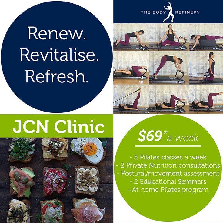 the 5 week wellness challenge: renew, revitalise, refresh | jcn clinic