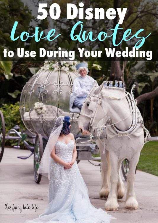 Disney Love Quotes Wedding : disney, quotes, wedding, Disney, Quotes, Wedding, Fairy, Quotes,
