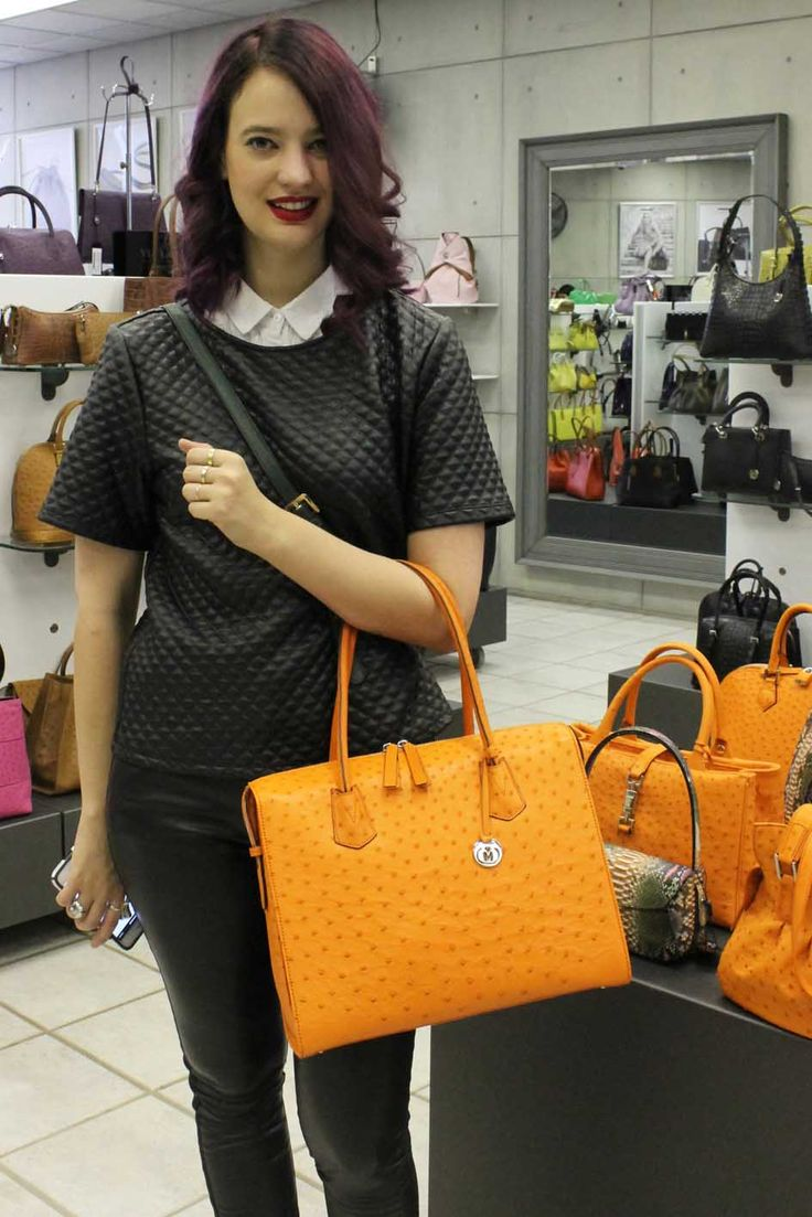 The Via La Moda Showroom. The largest collection of exotic leather and calf leather handbags in the Southern Hemisphere. Jess Lupton - Gaschette Magazine