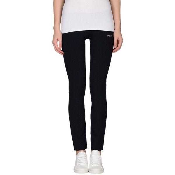 Freddy Leggings ($33) ❤ liked on Polyvore featuring pants, leggings, dark blue, black leggings, black cotton leggings, black straight leg pants, dark blue pants and freddy