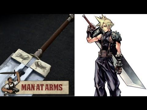 I want Cloud's sword.