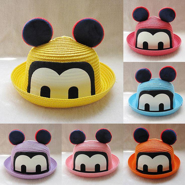 >> Click to Buy << 2017 new fashion Cartoon Ear Dome Handmade Kids Sunburn Knit Hooded Mature Baby boy and girl M summer Fisherman sun Hat caps #Affiliate