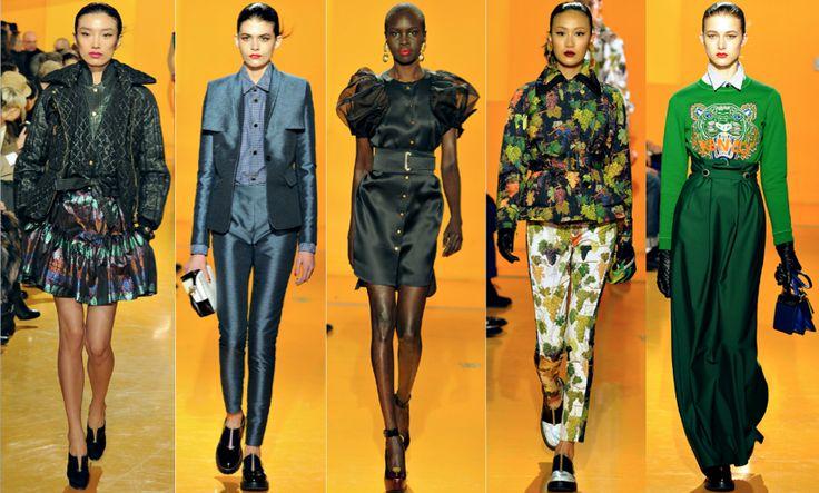 Kenzo is the perfect balance of frivoulous, decadent and wearable.: Kenzo Fall, Fashion, Fall 2012, Kenzo Paris, Kenzo Aw2012, Kenzo Runway, Lady Laying, Kenzo 2012, Aw2012 2Nd