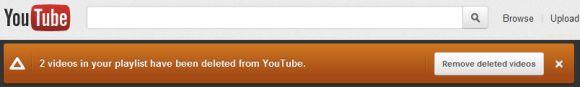 Youtube je unapredio svoj servis sa jednom odličnom novom mogućnošću a to je da od sada možete sa svojih Youtube plejlista da uklonite obrisane video klipove.    Dakle, ukolik