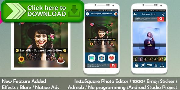 [ThemeForest]Free nulled download InstaSquare Photo Editor from http://zippyfile.download/f.php?id=46301 Tags: ecommerce, Collage Photo Editor, emoji, Insta Square, InstaSquare Photo Editor, photo editor, photo effects, photo frame, Snap Photo Editor, Snap Pic, Square Photo Emoji Editor