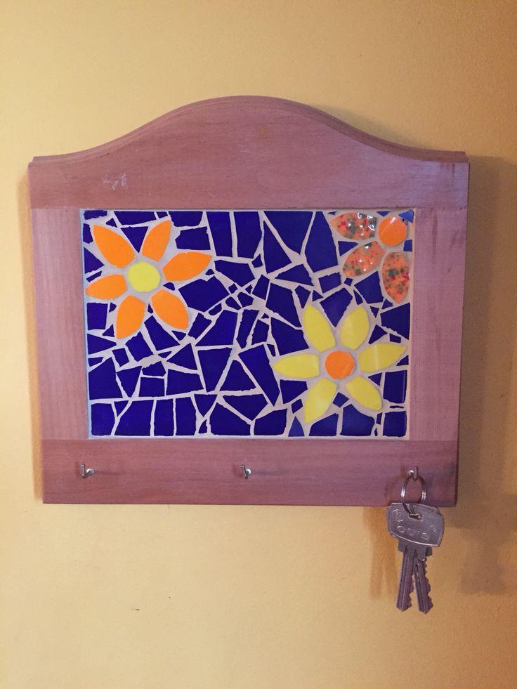 Llavero en mosaico