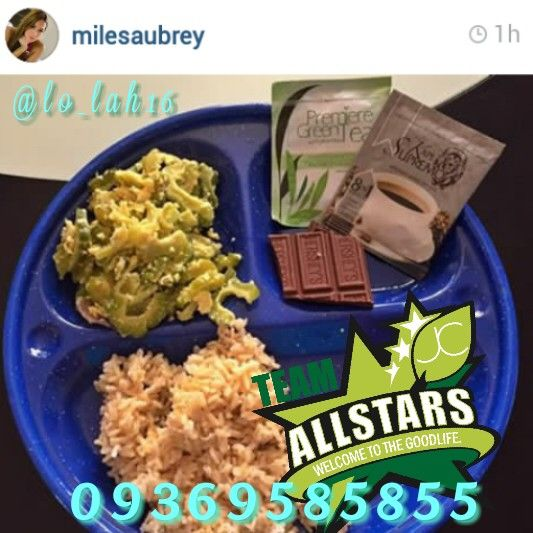 Ayun oh! Di nawawala sa meal ng aming Celebrity Distributor Ms. Aubrey Miles ang Effective products ng JC Premiere. She drinks Premiere Green Tea 1hr before meal to help her feel busog and at the same time it cleanses her colon and our Kape Supremo to give her all the energy she needs. Stocks available on hand.  #positivity #moreblessing #gellofjcpremiere #Godgotme #slimming #energybooster #coffeeaddict #coffee #jcpremiereallstars #glutafit