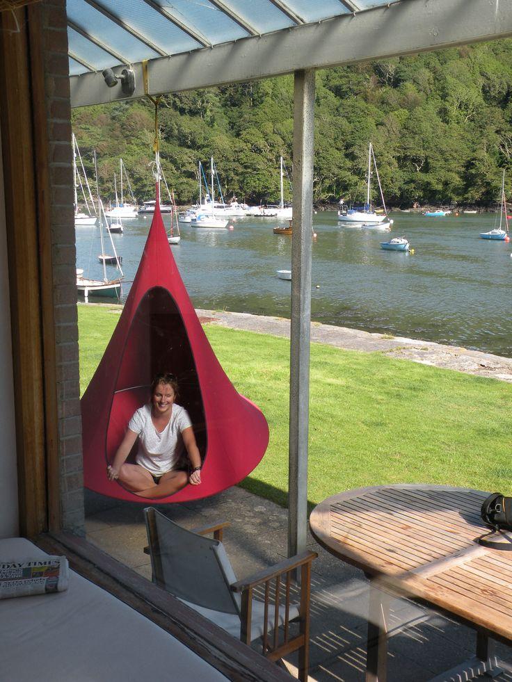 De Cacoon is de ideale chill plek voor thuis en buiten. #Cacoon #Chill #Relax #Hang #Stoel #Tent