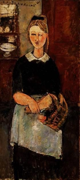 The Pretty Housewife - Amedeo Modigliani
