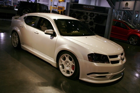 "SEMA 2007: Dodge Avenger ""StormTrooper Edition""      • Nerds + Gear Heads -- great combination!"