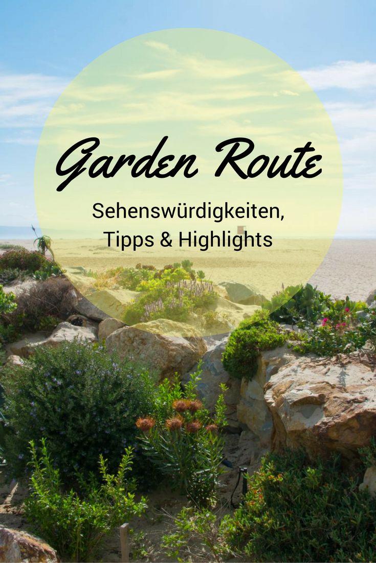 Sehenswürdigkeiten, Tipps und Highlights entlang der Garden Route in Südafrika