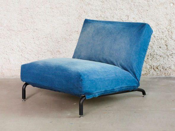journal standard Furniture RODEZ CHAIR DENIM 1P / ジャーナルスタンダードファニチャー ロデチェア デニム 1人掛け - 【FLYMEe】インテリア・家具通販フライミー
