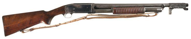 Scarce U.S. Marked Remington Model 10 Slide Action Trench Shotgun